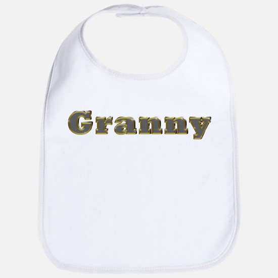 Granny Gold Diamond Bling Bib