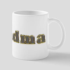 Grandma Gold Diamond Bling Mugs