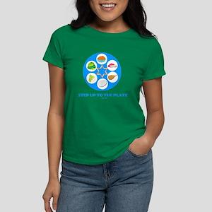 Step Up To Plate Passover Women's Dark T-Shirt