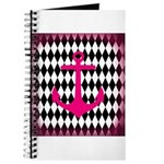Pink Black Anchor Journal