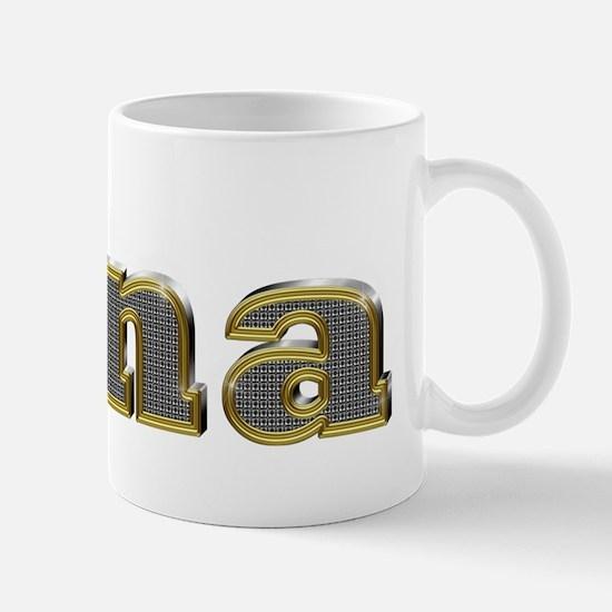 Gina Gold Diamond Bling Mugs