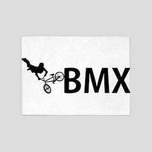 biker 5'x7'Area Rug