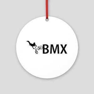 biker Ornament (Round)