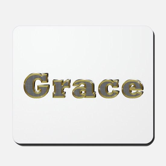 Grace Gold Diamond Bling Mousepad