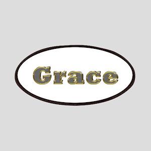 Grace Gold Diamond Bling Patch