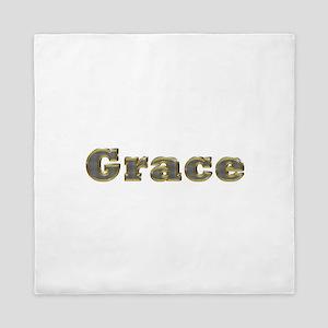 Grace Gold Diamond Bling Queen Duvet