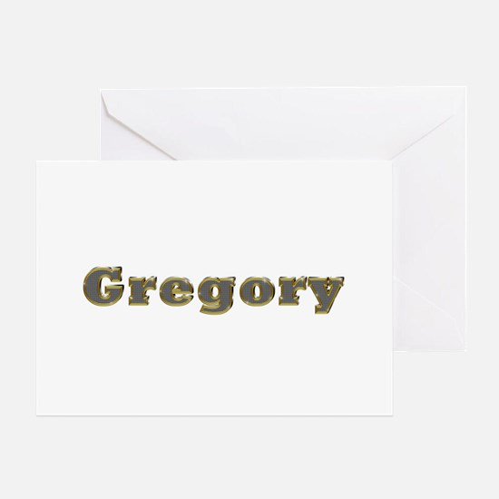 Gregory Gold Diamond Bling Greeting Card
