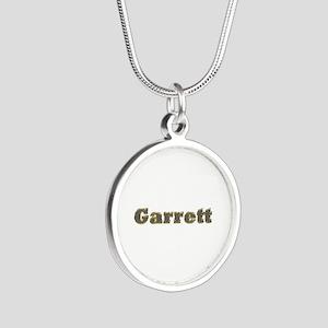 Garrett Gold Diamond Bling Silver Round Necklace