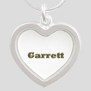 Garrett Gold Diamond Bling Silver Heart Necklace