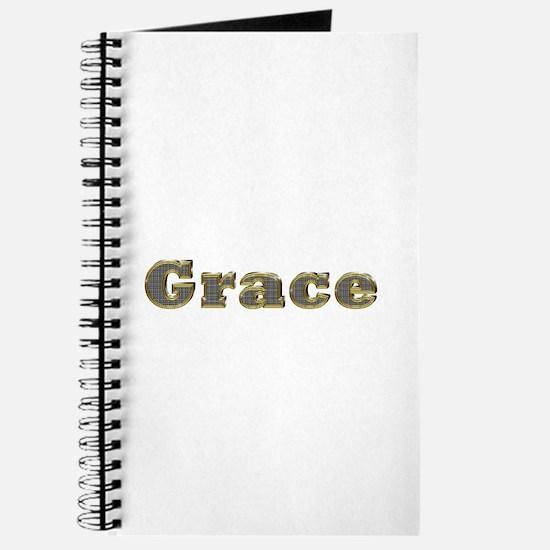 Grace Gold Diamond Bling Journal