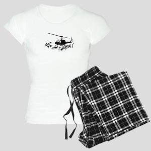 choppa get to Women's Light Pajamas