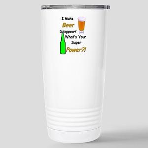I Make Beer Disappear.. Travel Mug