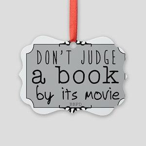 Book vs Movie Ornament