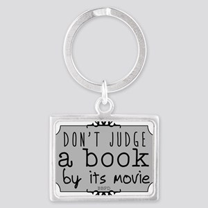 Book vs Movie Keychains