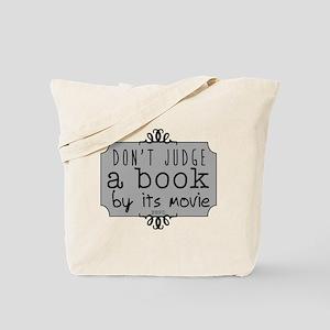 Book vs Movie Tote Bag