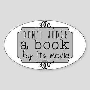 Book vs Movie Sticker