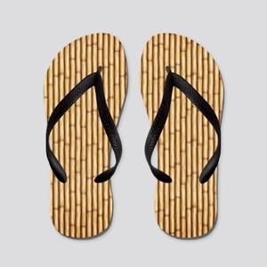 2ad9c5c41110 Natural Bamboo Flip Flops - CafePress