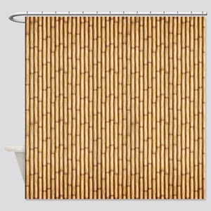 Bamboo  Screen Shower Curtain