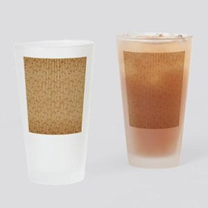 Bamboo Screen Drinking Glass