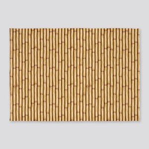 Bamboo Screen 5'x7'Area Rug