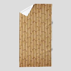 Bamboo Screen Beach Towel