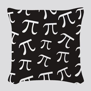 Pi Math Woven Throw Pillow