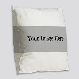 Your Image Here Element Burlap Throw Pillow