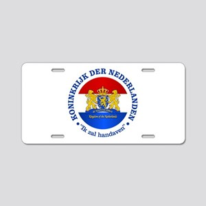 Kingdom of the Netherlands Aluminum License Plate