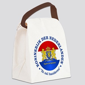 Kingdom of the Netherlands Canvas Lunch Bag