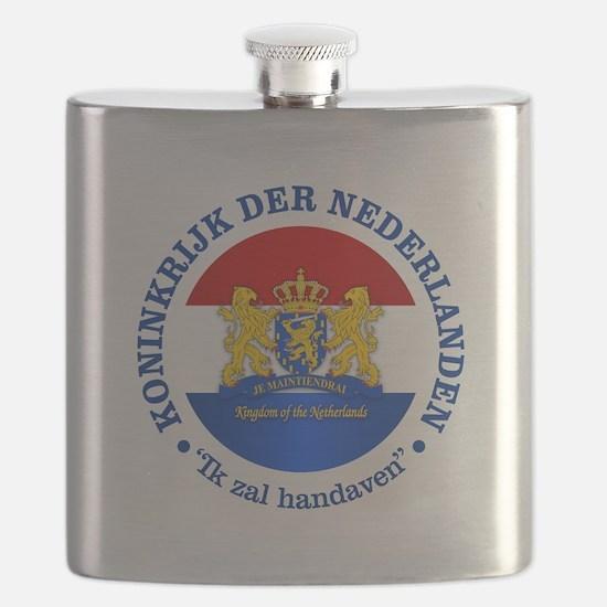 Kingdom of the Netherlands Flask