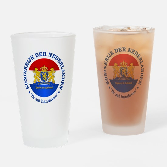Kingdom of the Netherlands Drinking Glass