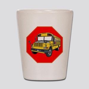 School Bus Driver Shot Glass