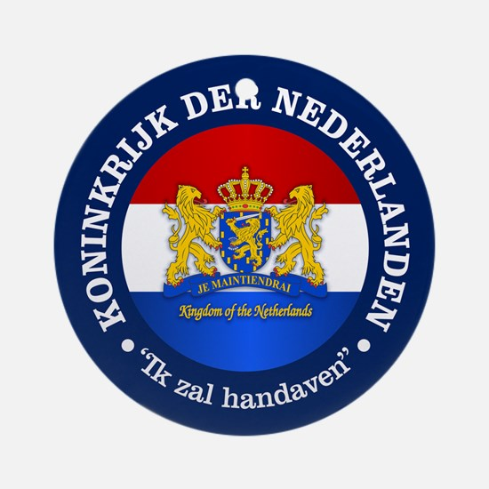 Kingdom of the Netherlands Ornament (Round)