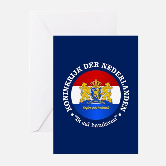 Kingdom of the Netherlands Greeting Cards