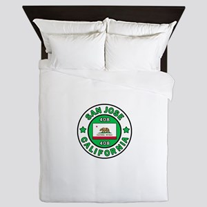 San Jose Queen Duvet