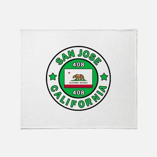 San Jose Throw Blanket