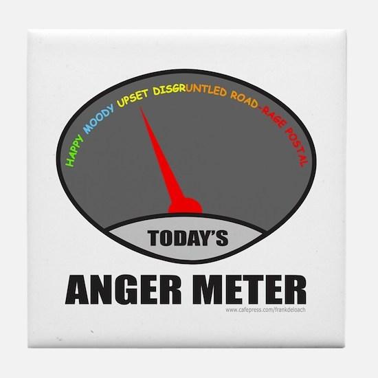 ANGER METER Tile Coaster
