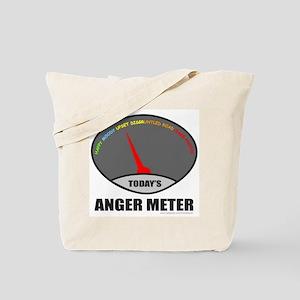 ANGER METER Tote Bag