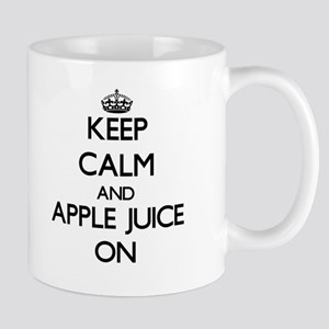 Keep calm and Apple Juice ON Mugs