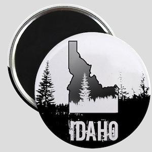 Idaho: Black and White Magnets