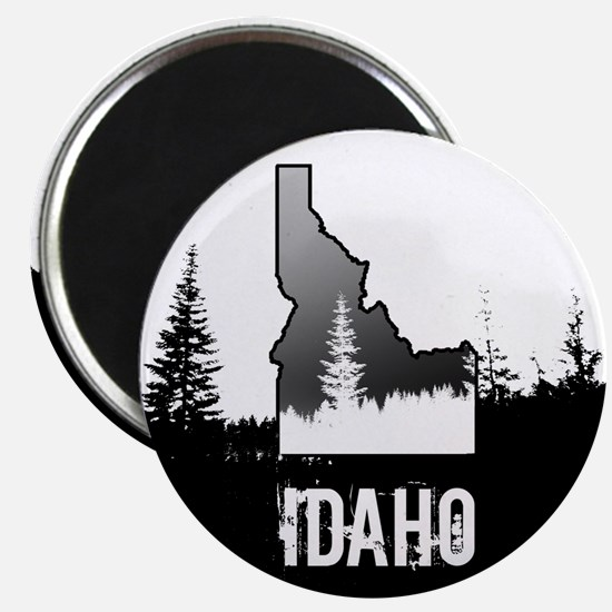 Idaho: Black and White Magnets