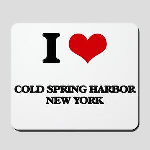 I love Cold Spring Harbor New York Mousepad
