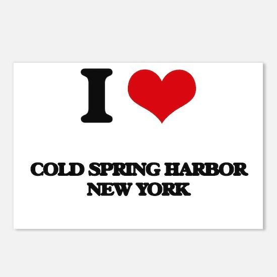 I love Cold Spring Harbor Postcards (Package of 8)