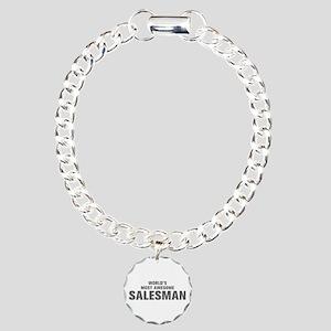 WORLDS MOST AWESOME Salesman-Akz gray 500 Bracelet