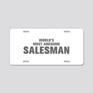 WORLDS MOST AWESOME Salesman-Akz gray 500 Aluminum