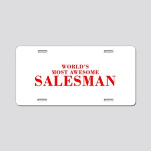WORLDS MOST AWESOME Salesman-Bod red 300 Aluminum