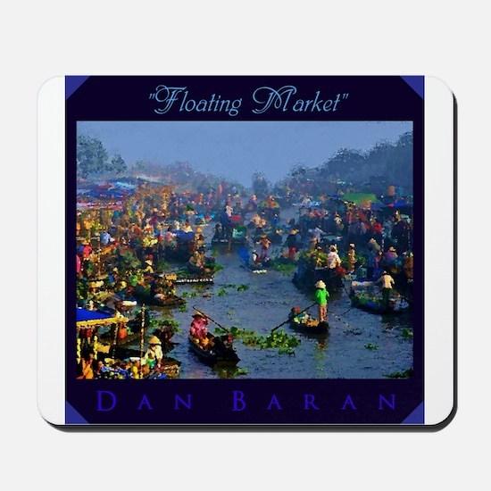 Floating Market Mousepad