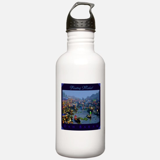 Floating Market Water Bottle