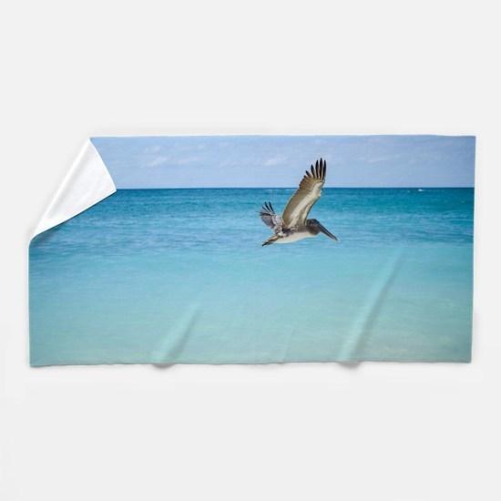Flying Free Beach Towel