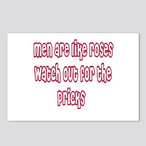 Men Are Like Roses Postcards (Package of 8)